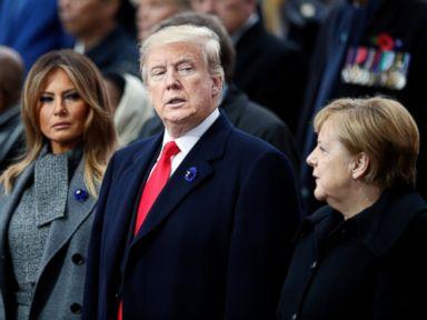 President Trump joins world leaders to mark centennial anniversary of World War I