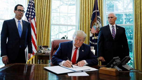 Trump announces new sanctions on Iran, including on supreme leader