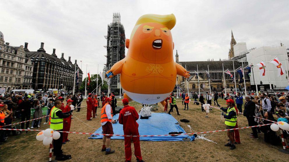 Trump Baby' balloon set to take flight during July 4th celebration ...