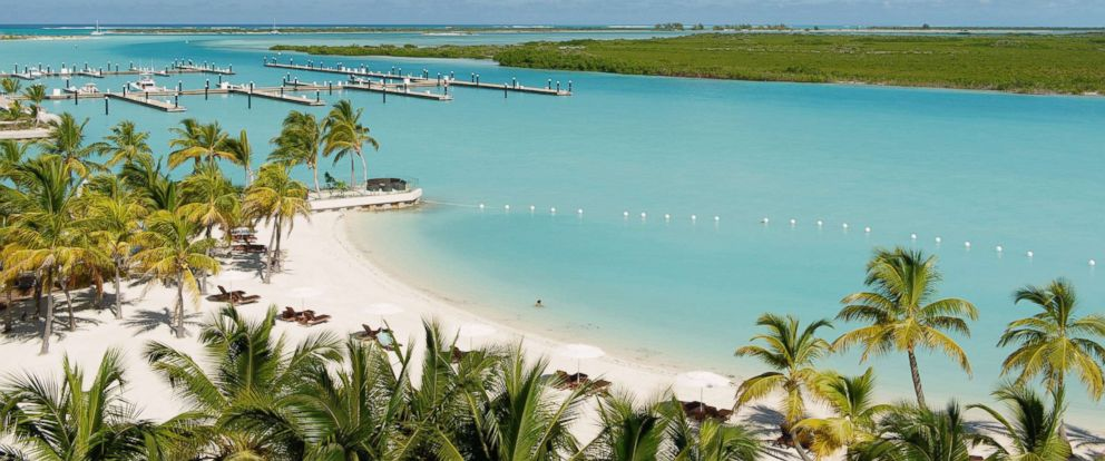 PHOTO: A beach and harbor resort in Providenciales, Turks and Caicos is pictured in this undated stock photo.