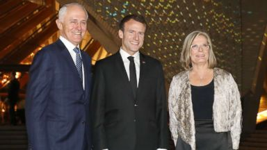 Australian First Lady Lucy Turnbull Flattered After French President Emmanuel Macron Calls Her Delicious Abc News