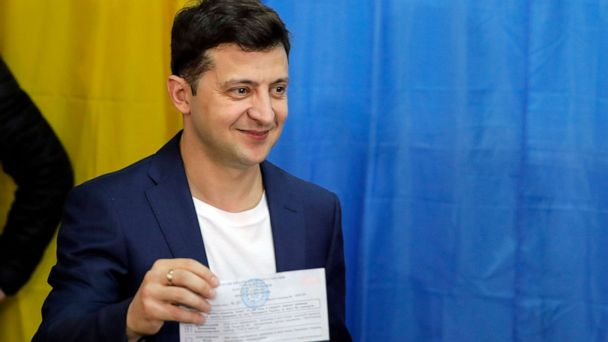 Comedian Volodymyr Zelensky wins Ukrainian presidential election