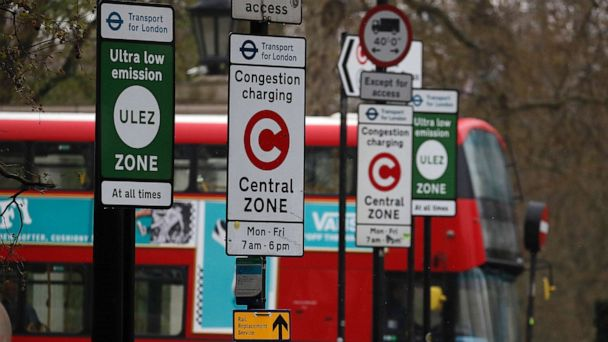 London introduces Ultra Low Emissions Zone for vehicles with charges up to $130
