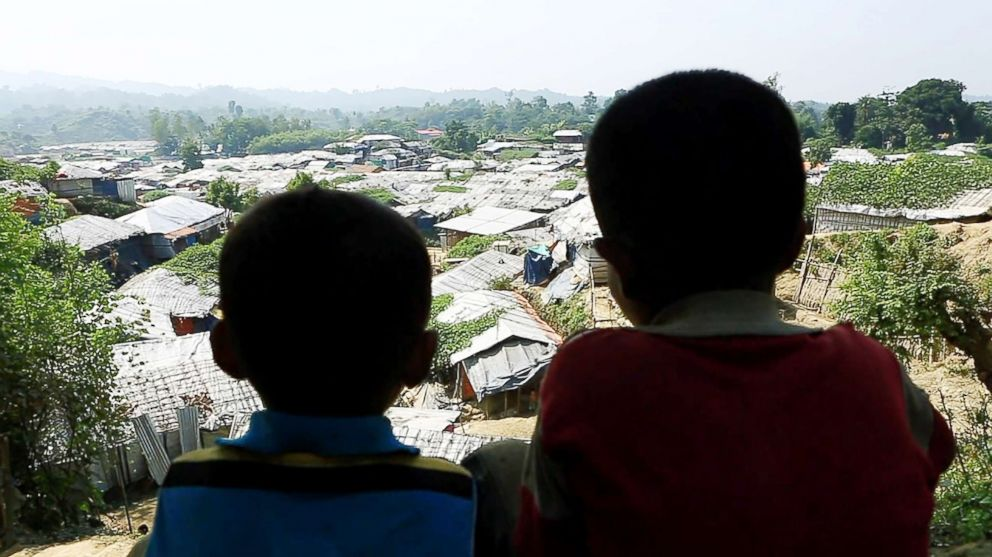 PHOTO: Thousands of Rohingya refugees live in the Unchiprang refugee camp in Coxs Bazar, Bangladesh, seen in Nov. 2018.