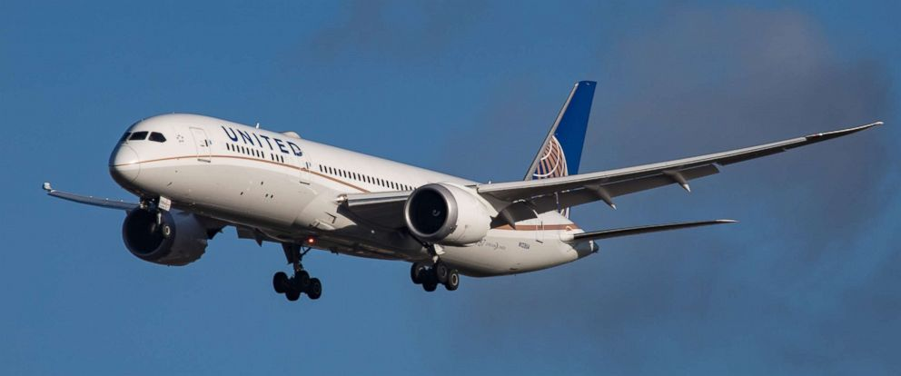 PHOTO: A United Airlines airplane is pictured in March 2015.