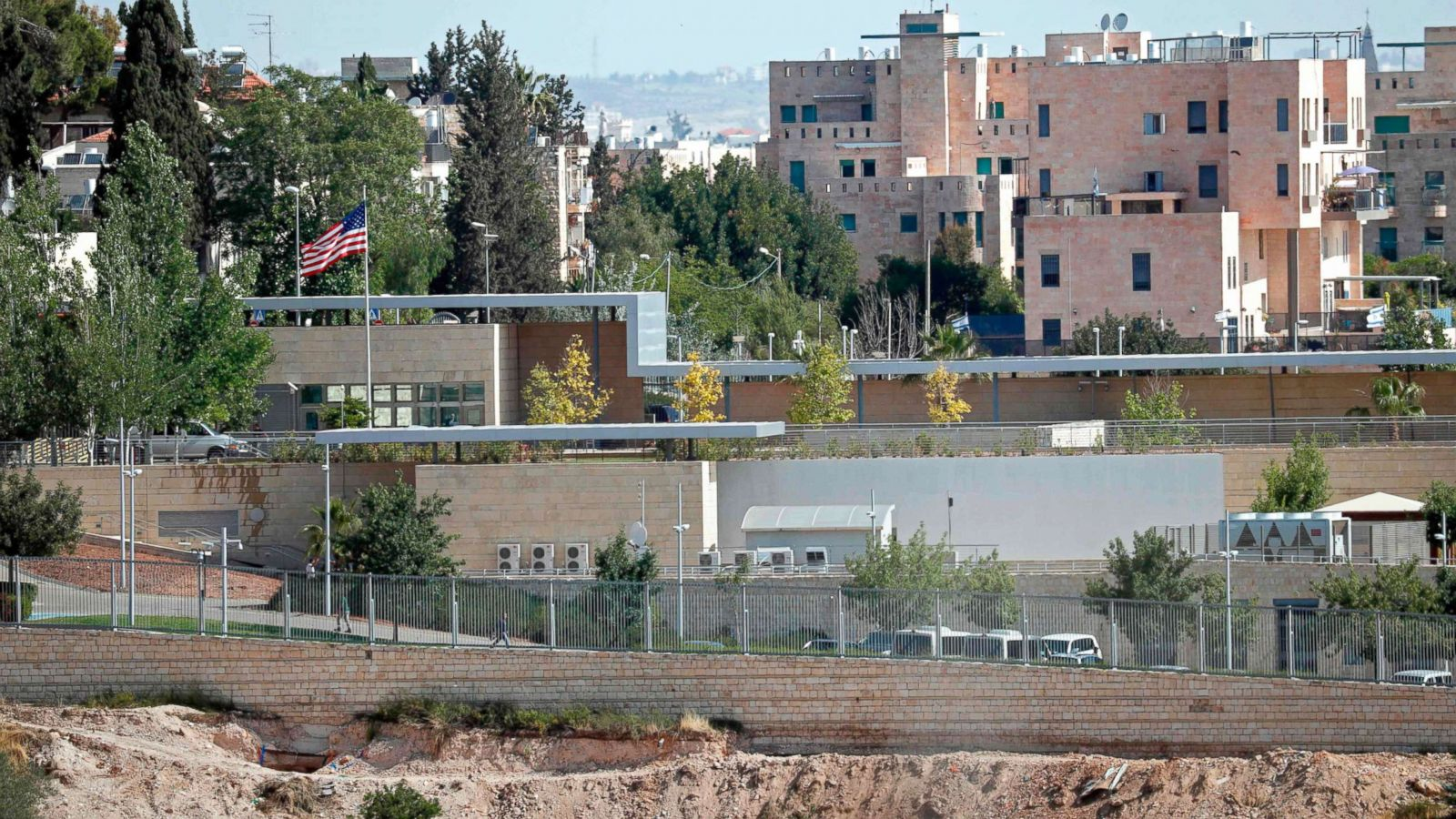 timeless design ff862 31ee8 Opening of US Embassy in Jerusalem: What to know - ABC News