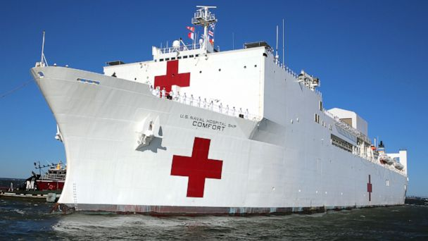 US Navy hospital ship begins 5-month deployment to help Venezuela refugees