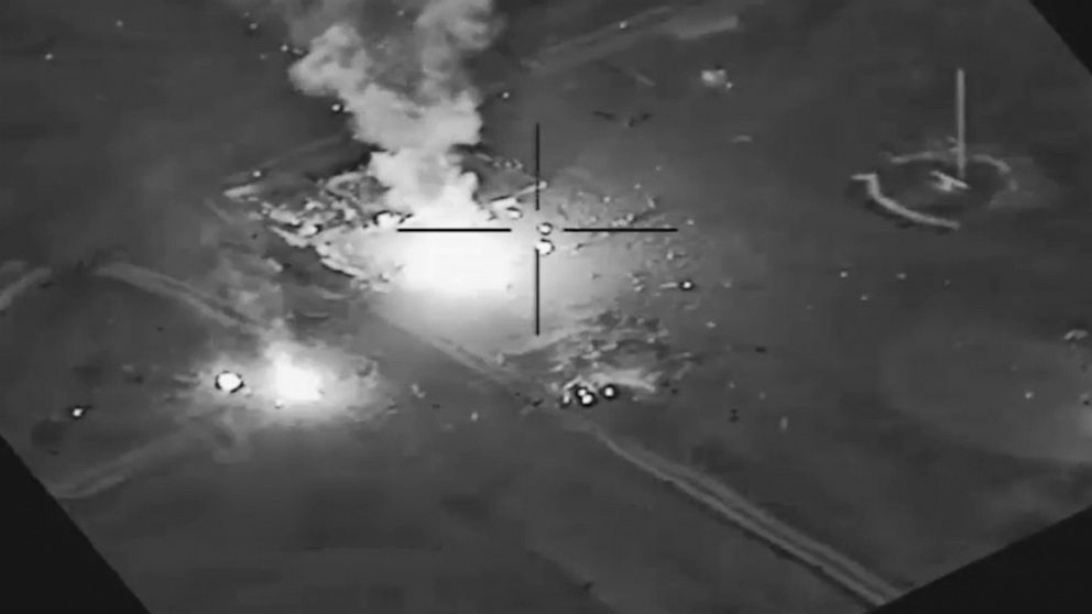 Video shows aftermath of US strike in Iraq amid concerns violence could escalate thumbnail