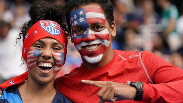 As America takes on Spain in World Cup, fans are already inspired
