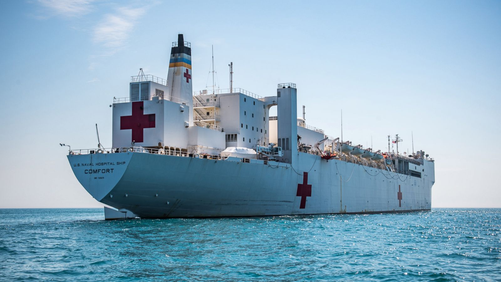 Us navy hospital ship to head to colombia amid venezuelan us navy hospital ship to head to colombia amid venezuelan humanitarian crisis abc news stopboris Image collections