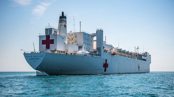 US Navy hospital ship will be deployed to assist Venezuelan refugees