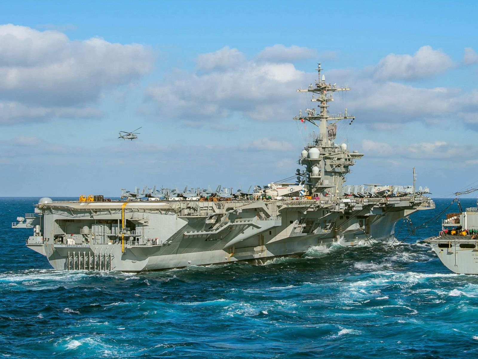 Aircraft carrier sent to Middle East after indications Iran ...