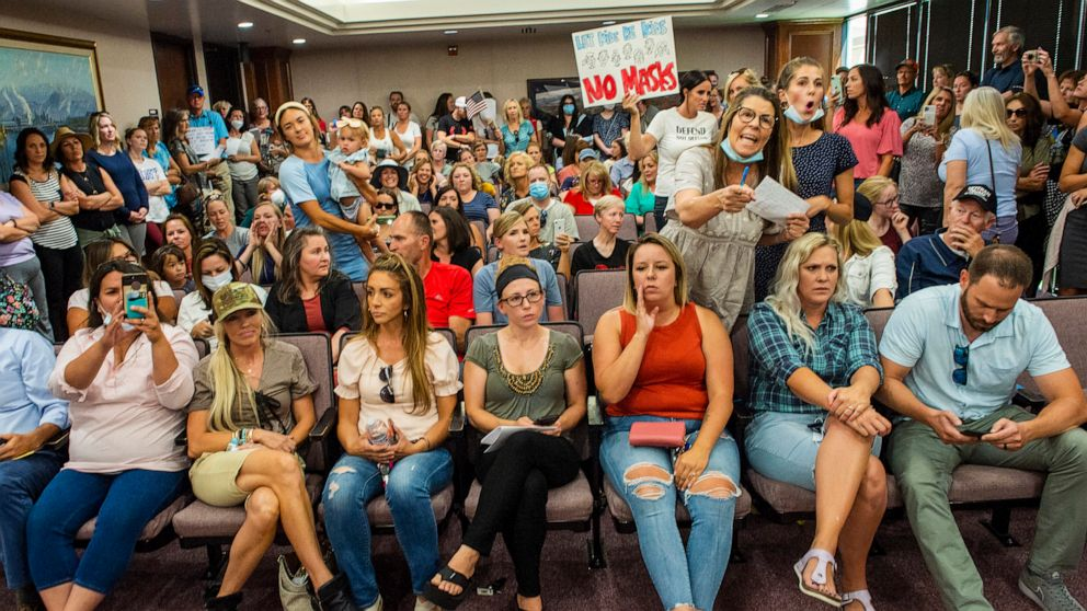 Utah public hearing on schools dismissed after angry parents pack ...