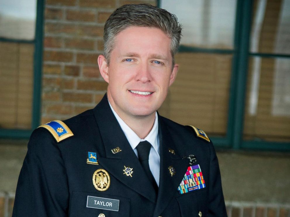 PHOTO: This undated photo provided by the Utah National Guard shows Maj. Brent Taylor, former mayor of North Ogden, died in Afghanistan, Nov. 3, 2018.