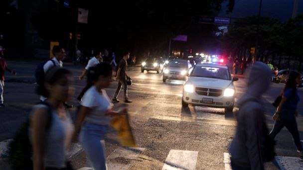 New blackout takes Venezuelans by surprise; government alleges 'electromagnetic attack'
