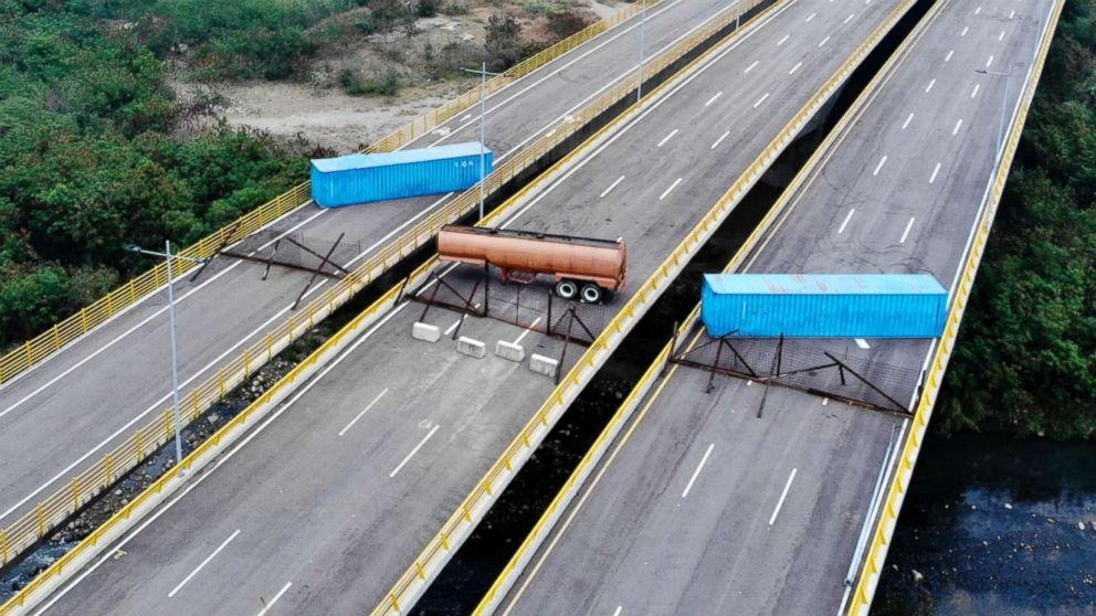 Aid arrives at Venezuela border as US demands Maduro let it in thumbnail