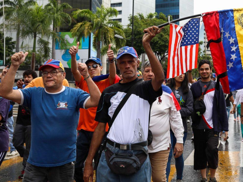 Protest News: In Escalation Of Tensions, Trump To Recognize Venezuela's