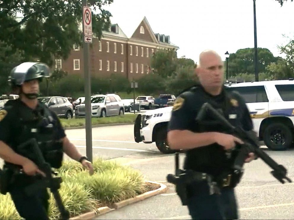 Virginia Beach: 'multiple injuries' in shooting at government building