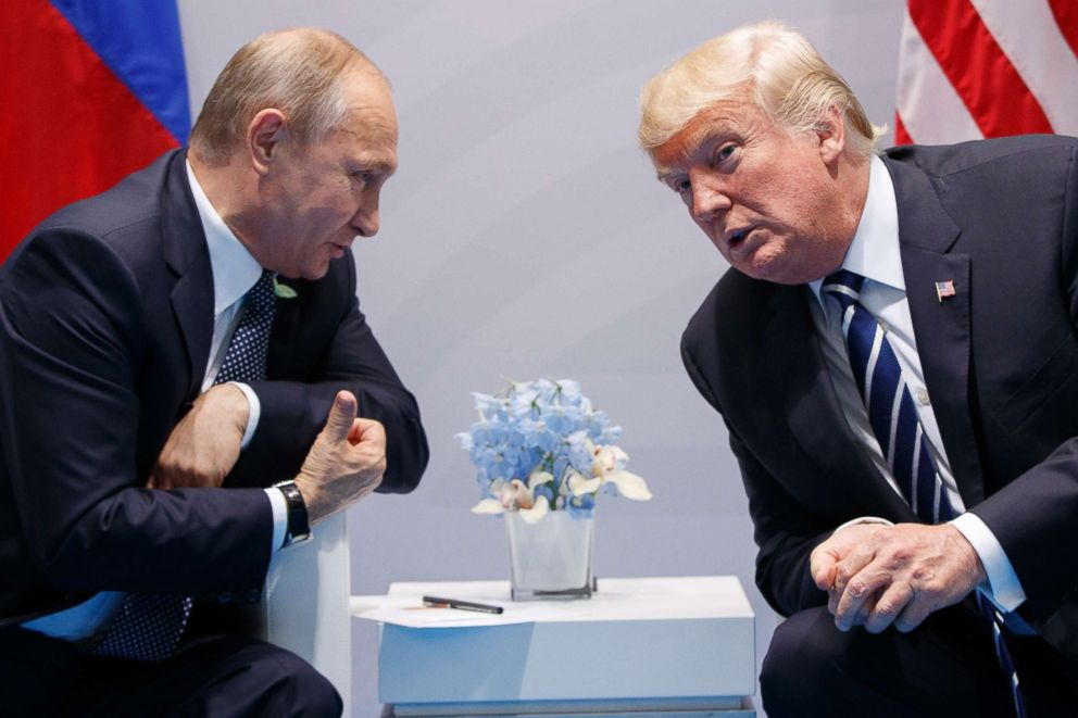 Will Trump press Putin on election meddling denials?