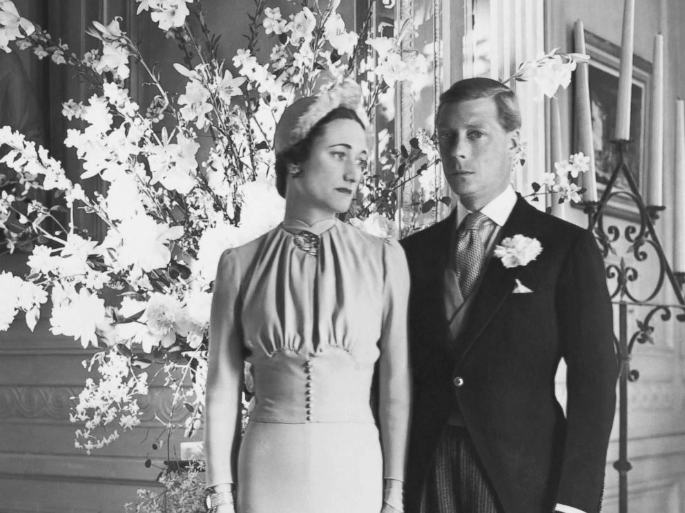 PHOTO: The Duke and Duchess of Windsor at the Chateau de Cande pose for a portrait after their wedding, Monts, France, June 3, 1937.