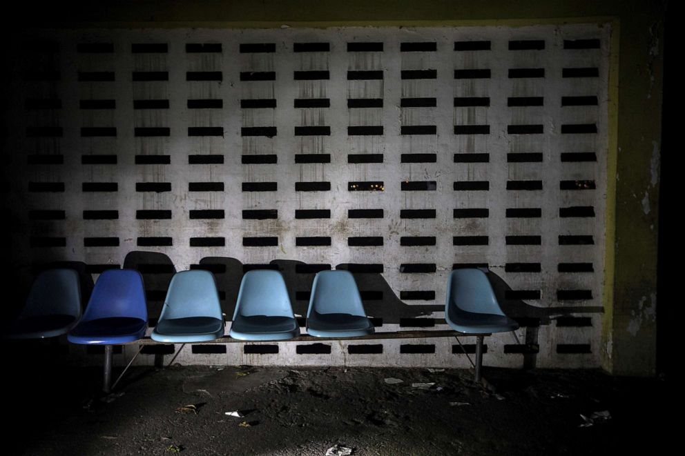 PHOTO: A view of the emergency room of the Caracas Psychiatric Hospital, in Caracas, Venezuela, July 14, 2019.