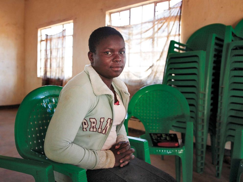 PHOTO: Alinafe, age 16, was rescued from a child marriage in Malawi.