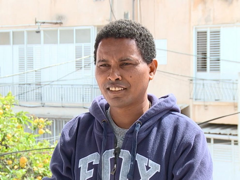 PHOTO: Worede Ghirmay, 37, who fled Eritrea in 2011, is seeking asylum in Israel.