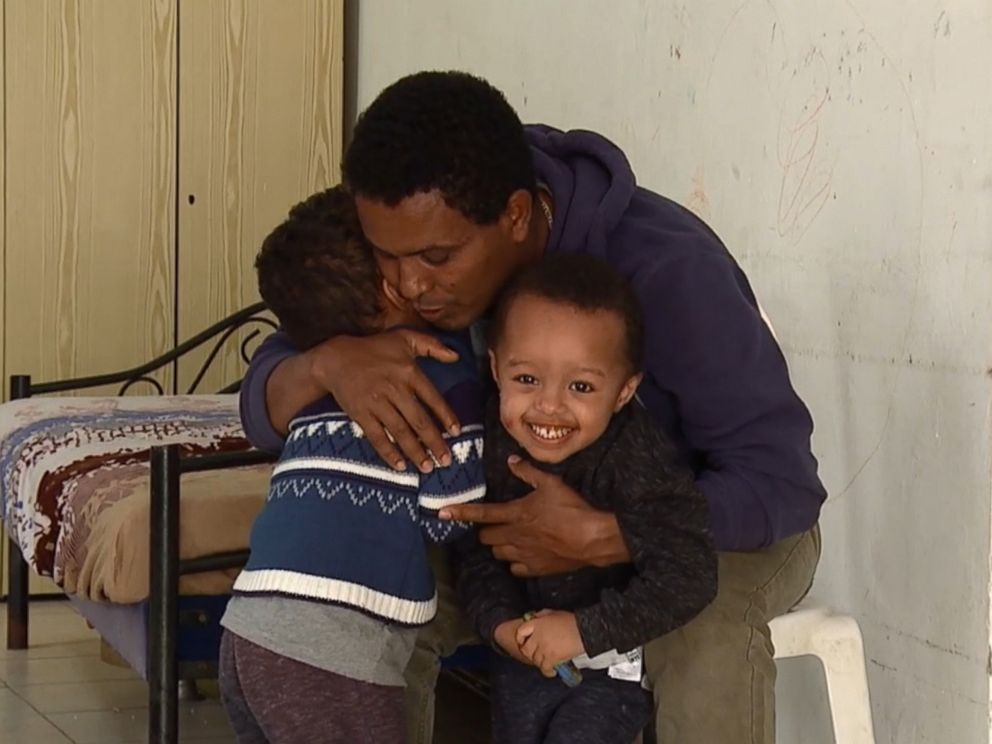 PHOTO: Worede Ghirmay, 37, who fled Eritrea in 2011, is seeking asylum in Israel. He married in Israel and had two children: Israel, 3, and Yosef, 2.