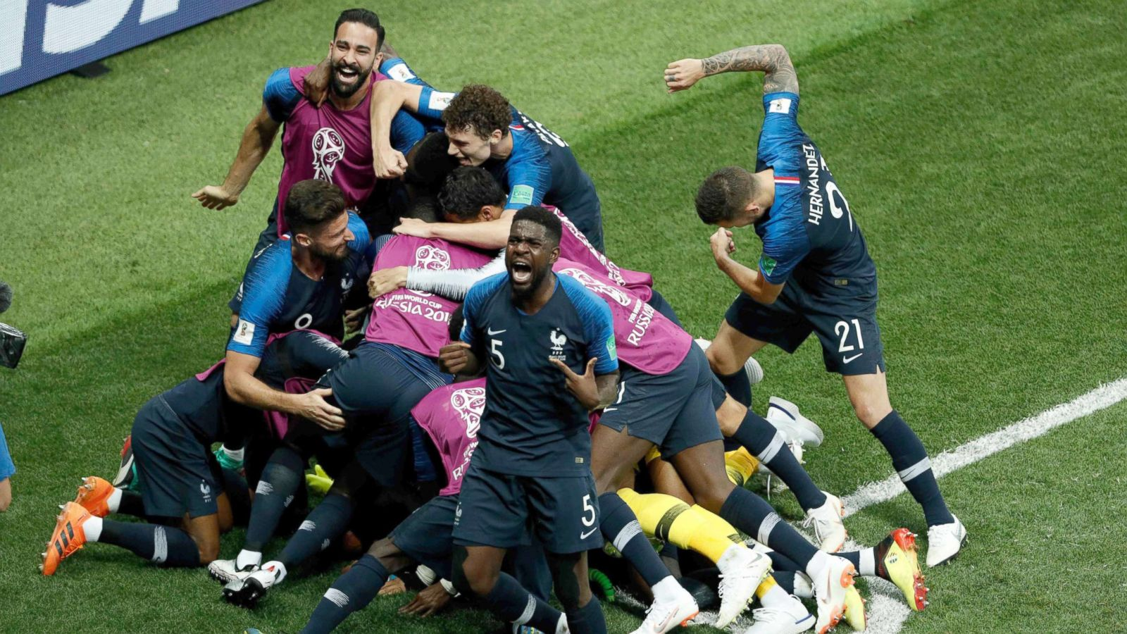Diverse French Team Brings Home World Cup Championship Abc News
