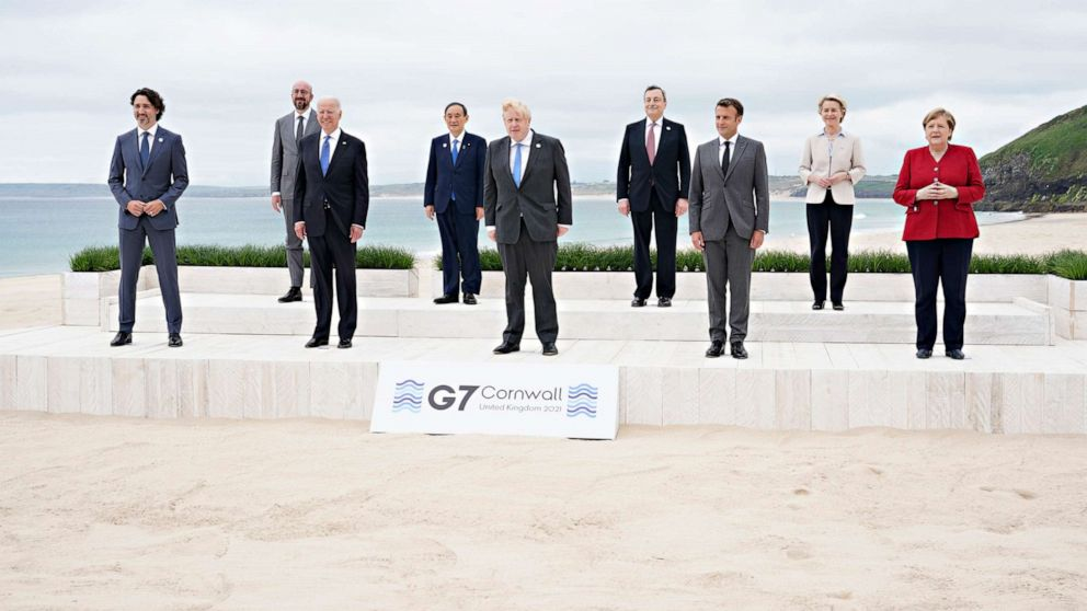 G7 to counter China's clout with big infrastructure project