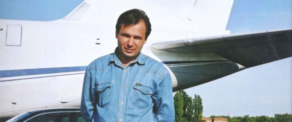 PHOTO: A file photo pf Russian pilot Konstantin Yaroshenko from a family album. He was sentenced to 20 years in prison in the United States, Sept. 7, 2011, for allegedly intending to smuggle cocaine.