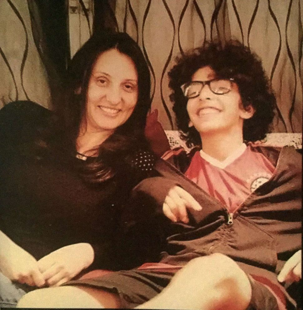 PHOTO:Marwa Kenawys 13-year-old son Youssef El-Arabi was killed by celebratory gunfire in Cairo two years ago.