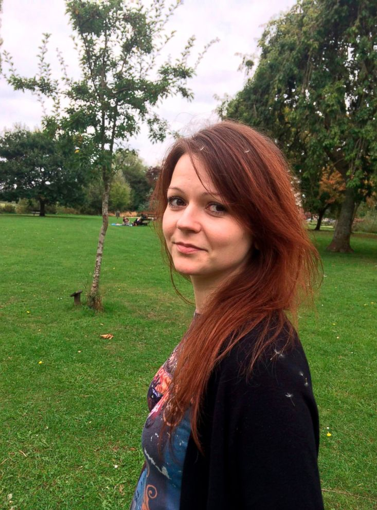 PHOTO: Daughter of former Russian Spy Sergei Skripal, Yulia Skripal seen in this undated photo.