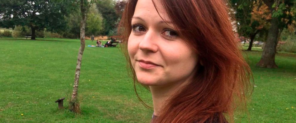 PHOTO: Daughter of former Russian Spy Sergei Skripal, Yulia Skripal pictured in this undated photo.