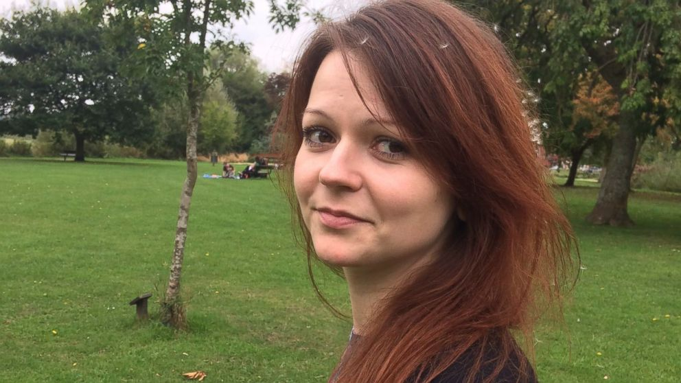 This undated image taken from the Facebook page of Yulia Skripal on March 8, 2018 allegedly shows Yulia Skripal, the daughter of former Russian spy Sergei Skripal, in an unknown location.