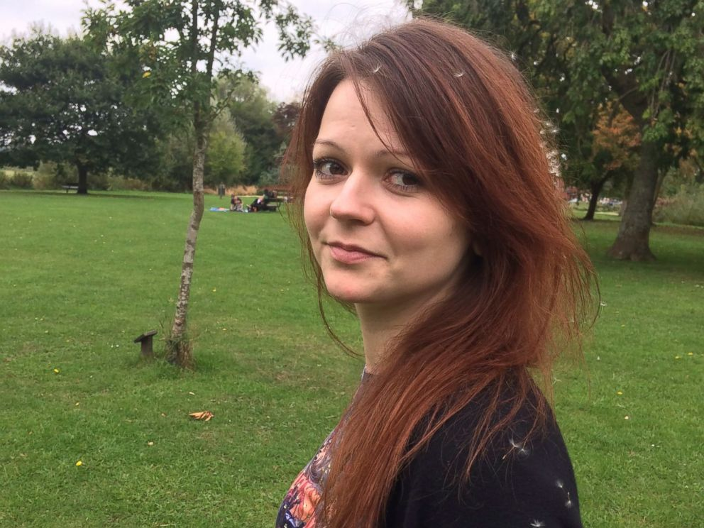 PHOTO:This undated image taken from the Facebook page of Yulia Skripal on March 8, 2018 allegedly shows Yulia Skripal, the daughter of former Russian spy Sergei Skripal, in an unknown location.