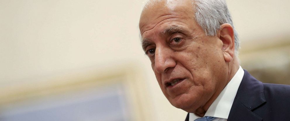 PHOTO: US Special Representative for Afghanistan Reconciliation Zalmay Khalilzad attends the Intra Afghan Dialogue talks in Doha, Qatar, July 8, 2019.