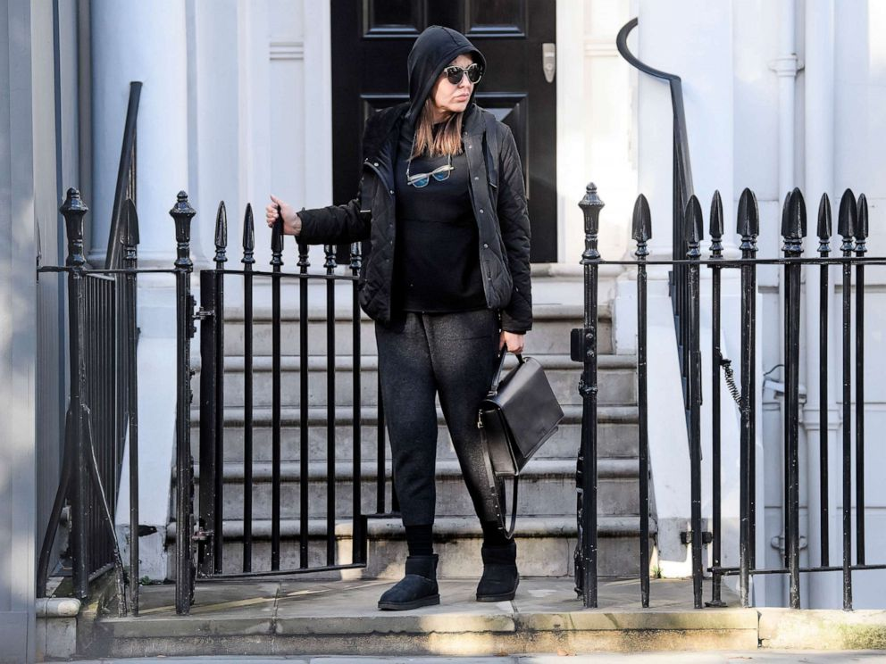 PHOTO: Zamira Hajiyeva is seen here in London on Nov. 13, 2018.