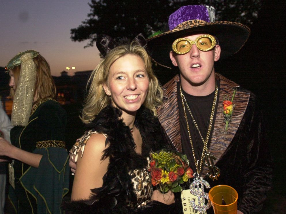 PHOTO: Christina and Michael Pasley at their HalloWedding in 2002.
