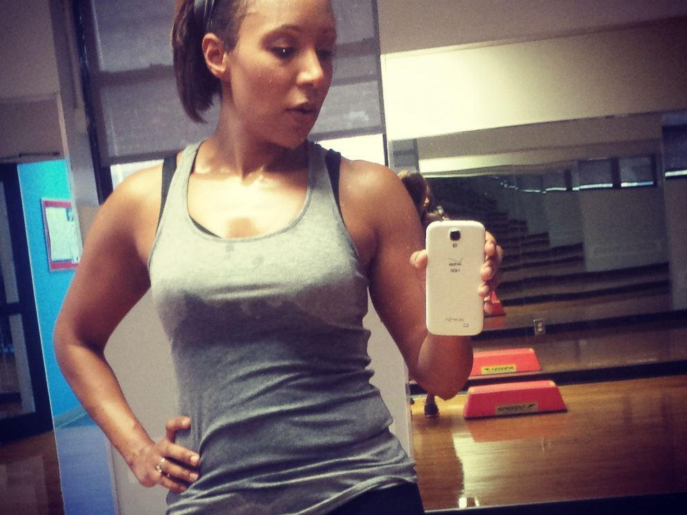PHOTO: Mara works out almost every day after the show.
