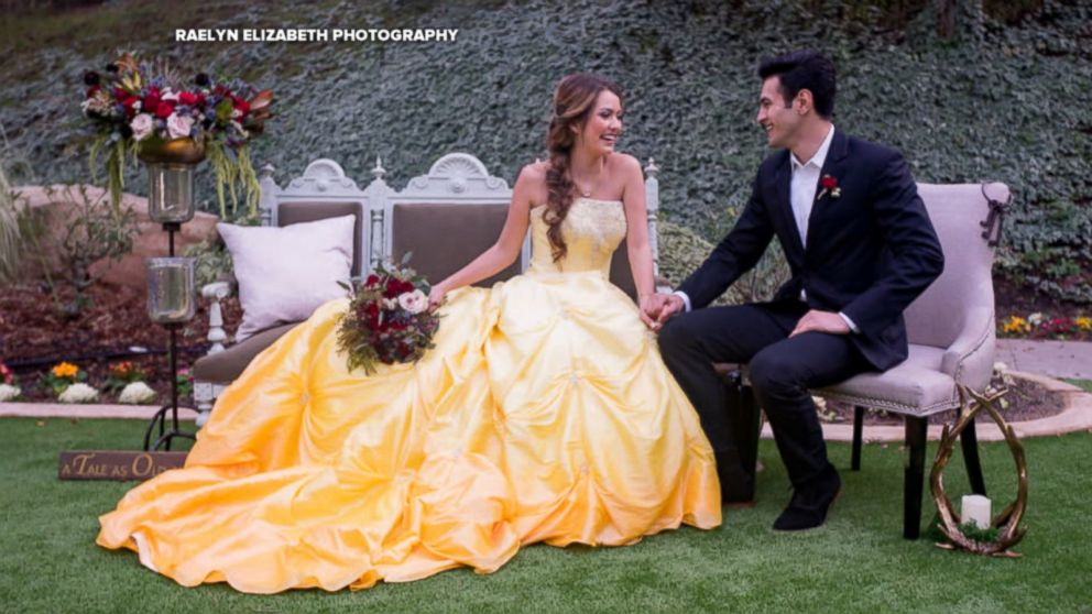 Enchanting \'Beauty and the Beast\' wedding shoot will inspire Belle ...