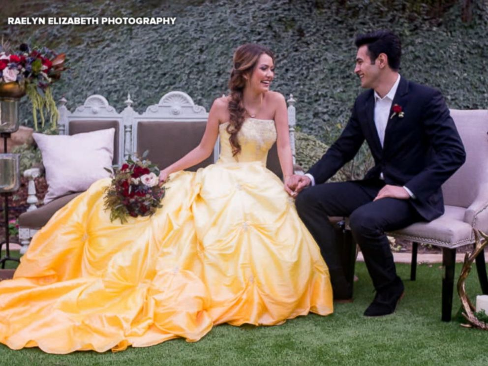 Enchanting Beauty And The Beast Wedding Shoot Will Inspire Belle
