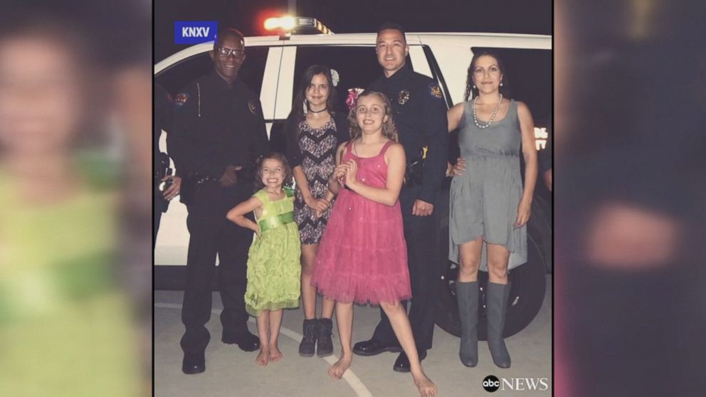 officers come to the rescue when dad can t make daddy daughter dance