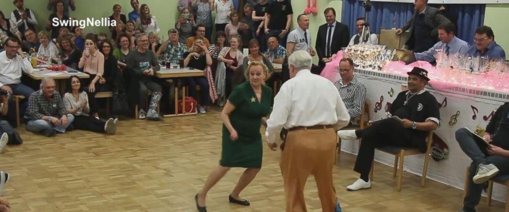 VIDEO: Watch this elderly German couple get down on the dance floor