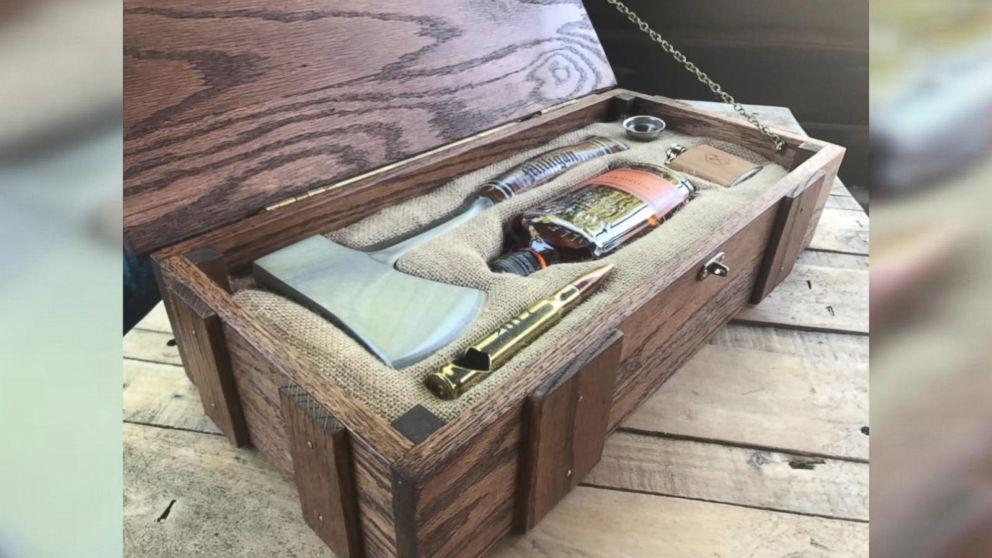 Man Makes Wilderness Wedding Survival Kit Boxes For His Groomsmen