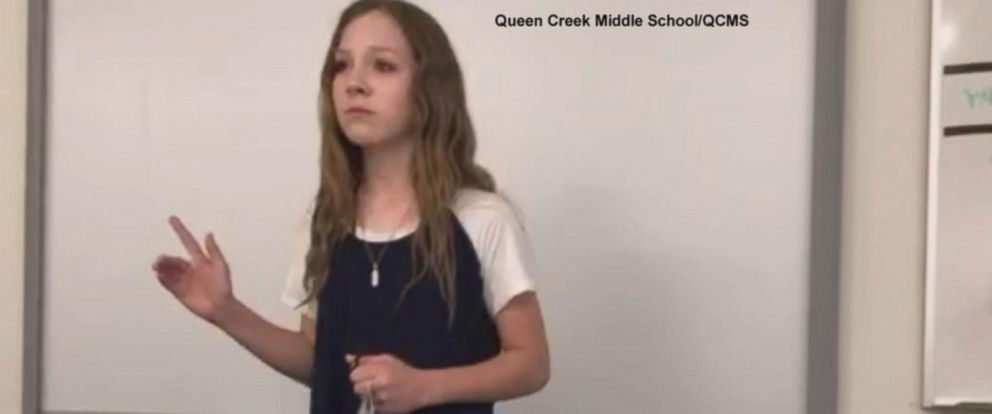 "VIDEO: 7th graders ""Why am I not good enough"" video touches millions"