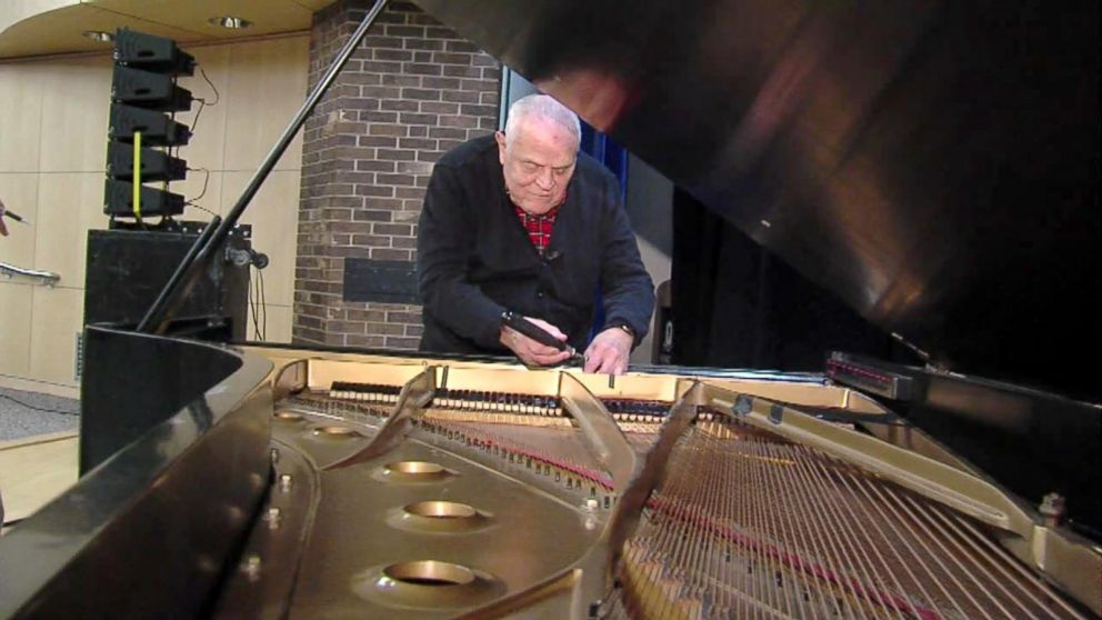 When stars need a piano tuner, they call this man
