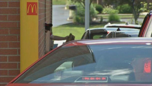 167 drivers pay it forward at McDonald's