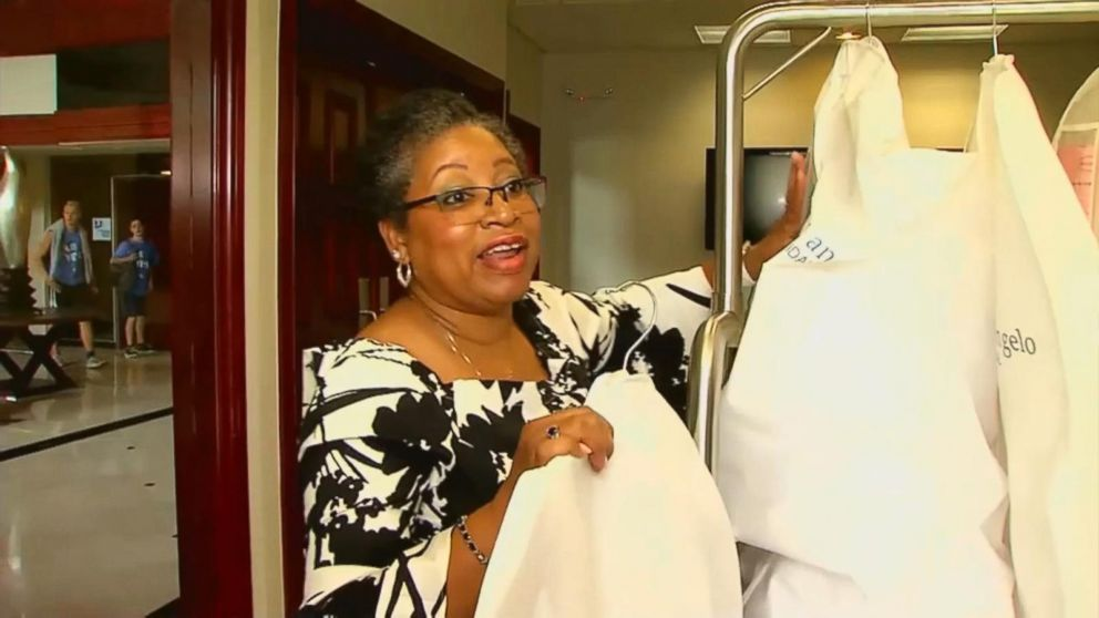Seamstress from abruptly closed bridal store reunites brides with ...