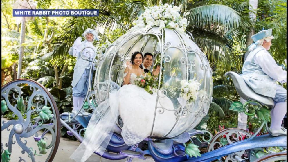 This Couples Epic Fairy Tale Wedding At Disneyland Will Blow You